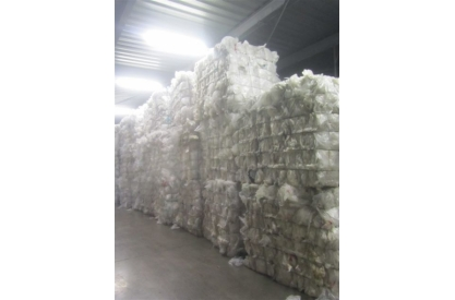 LDPE film 100% in bale   ( reference  TS )