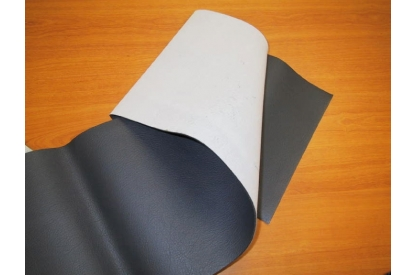 PVC foam with textile backing